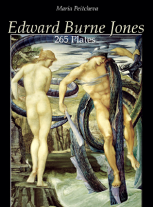 Edward Burne Jones: 265 Plates Copertina del libro