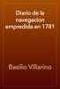 Basilio Villarino - Diario de la navegacion empredida en 1781 portada