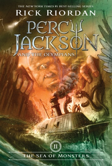 The Sea Of Monsters Percy Jackson And The Olympians Book 2 By