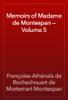 Françoise-Athénaïs de Rochechouart de Mortemart Montespan - Memoirs of Madame de Montespan — Volume 5 artwork
