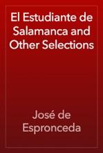 El Estudiante De Salamanca And Other Selections