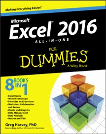 Excel 2016 All-in-One for Dummies - Greg Harvey
