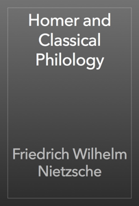 Homer and Classical Philology Book Review