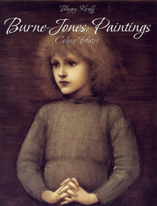 Burne-Jones: Paintings (Colour Plates) Copertina del libro