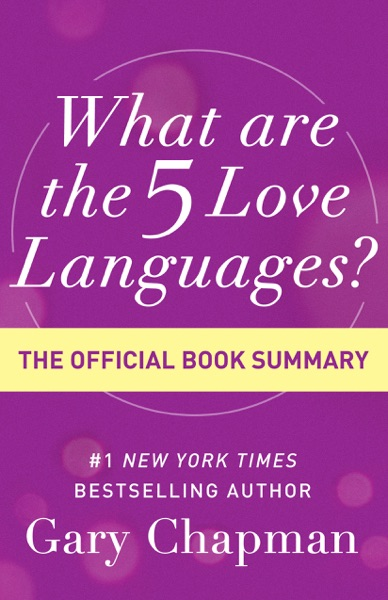 What Are the 5 Love Languages? - Gary Chapman book cover