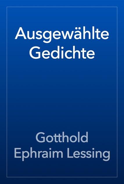 Ausgewählte Gedichte By Gotthold Ephraim Lessing On Ibooks