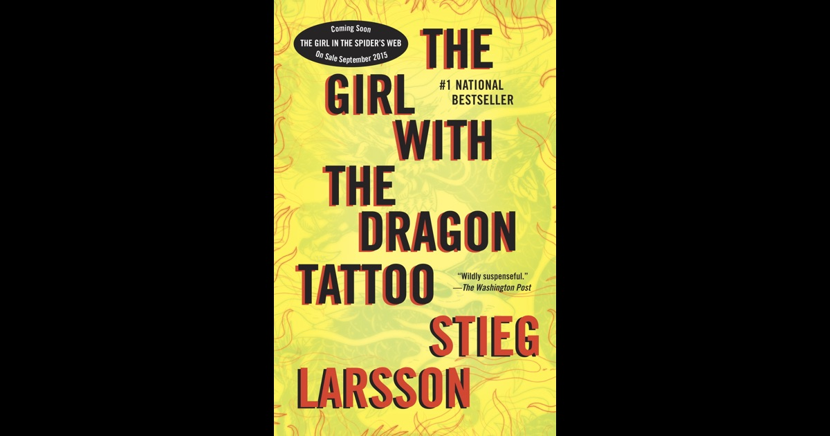 The girl with the dragon tattoo by stieg larsson on ibooks for The girl with the dragon tattoo story