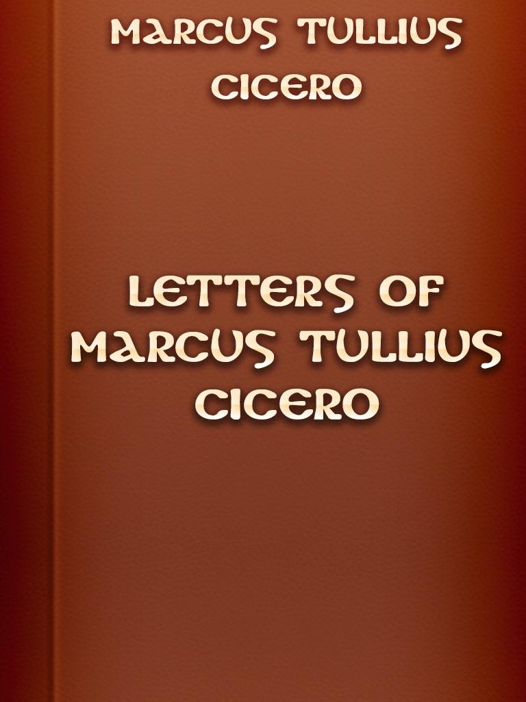 cicero letters