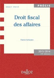 Droit Fiscal Des Affaires Edition 2015 2016
