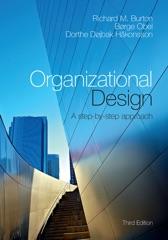 Organizational Design: Third Edition