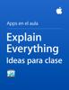 Apple Education - Explain Everything Ideas para clase ilustración