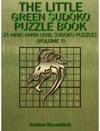Sudoku The Little Green Sudoku Puzzle Book 25 Newspaper Level Sudoku Puzzles