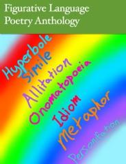 Figurative Language Poetry Anthology