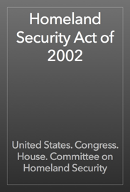 Homeland Security Act of 2002 book