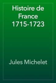 Histoire De France 1715 1723