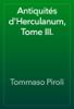 Tommaso Piroli - Antiquités d'Herculanum, Tome III. artwork
