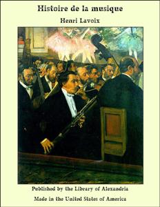 Histoire de la musique La couverture du livre martien
