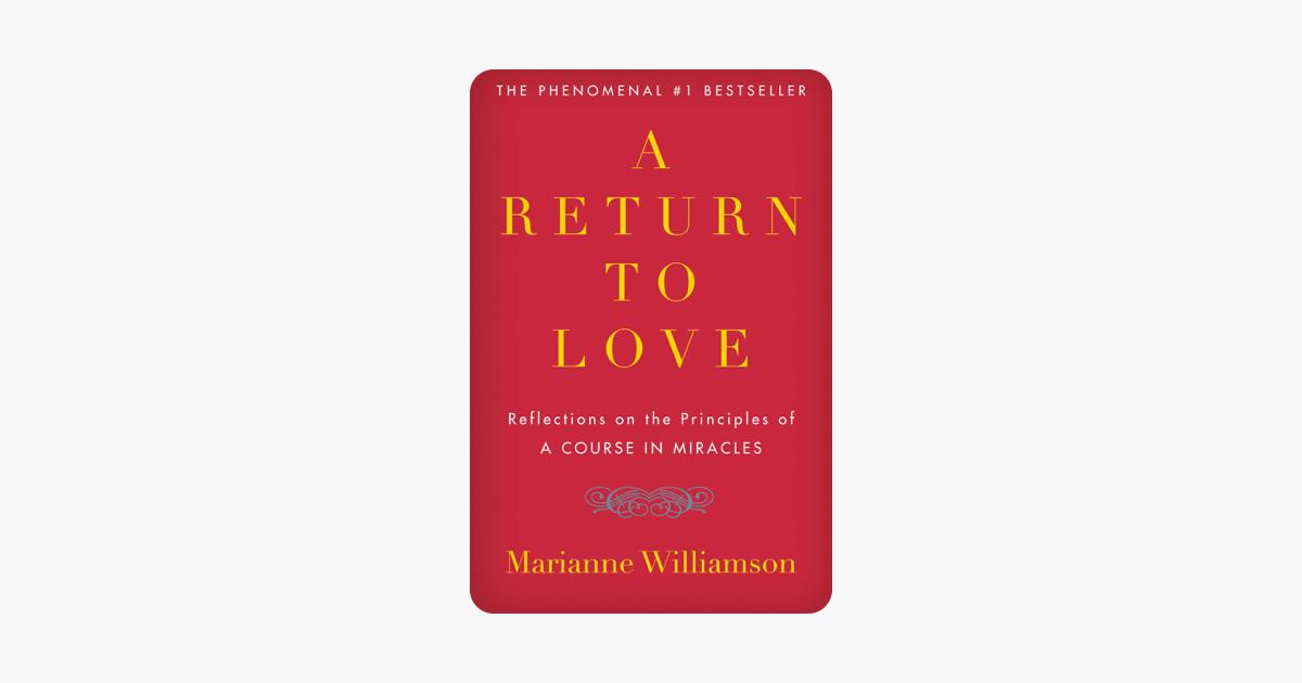 A Return to Love - Marianne Williamson