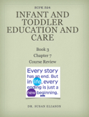 Infant & Toddler Education and Care:  Book 3, Chapter 7 Course Review