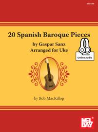 20 Spanish Baroque Pieces by Gaspar Sanz book