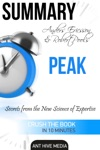 Anders Ericsson And Robert Pools PEAK Secrets From The New Science Of Expertise  Summary