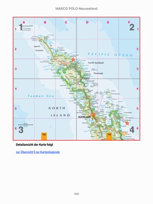 Karte Neuseeland Südinsel Zum Ausdrucken.Marco Polo Reiseführer Neuseeland