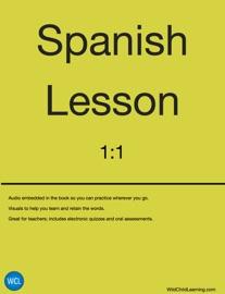Spanish Lessons 1 1