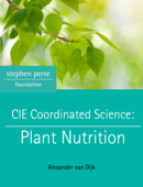CIE Coordinated Science: Plant Nutrition