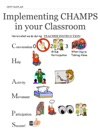 Implementing CHAMPS In Your Classroom - 2nd Edition
