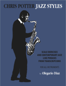 Chris Potter Jazz Styles Book Cover