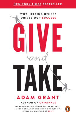 Give and Take - Adam Grant book
