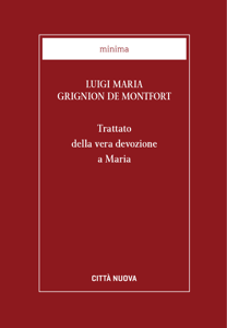 Trattato della vera devozione a Maria Libro Cover