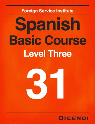 FSI Spanish Basic Course 31 book cover