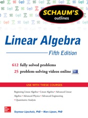 Download and Read Online Schaum's Outline of Linear Algebra, 5th Edition