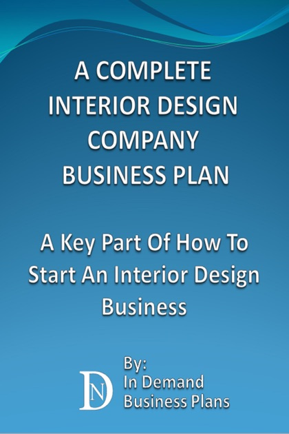 sample interior design business plan