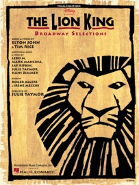 The Lion King Broadway Selections Songbook