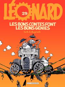 Léonard - tome 29 - Les bons contes font les bons génies La couverture du livre martien