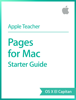 Apple Education - Pages for Mac Starter Guide OS X El Capitan  artwork