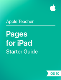 Pages for iPad Starter Guide iOS 10 book