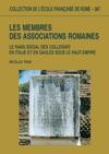 Les Membres Des Associations Romaines