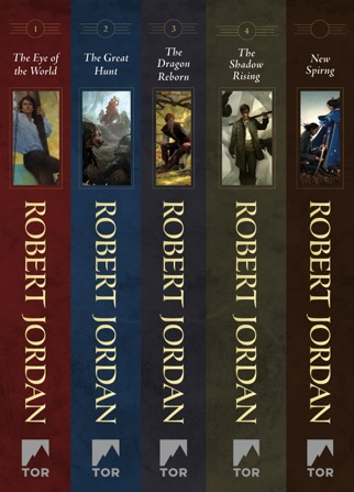 The Wheel of Time, Books 1-4 PDF Download