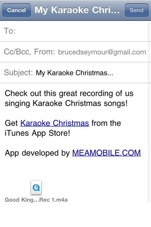 Karaoke Christmas - Sing Along With Your Favorite Christmas Tunes screenshot-3