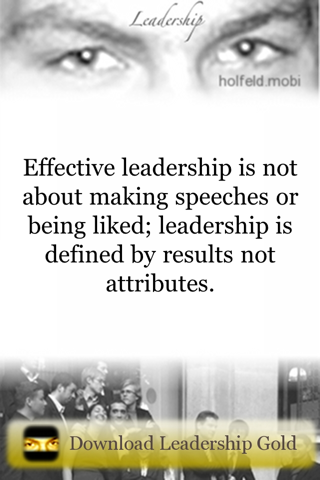 Screenshot of Leadership Lite