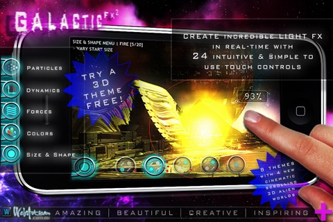 Galactic FX ² FREE : Art with Light