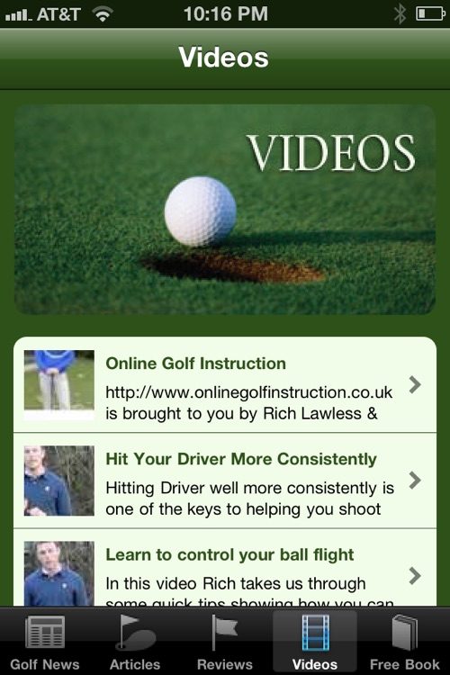Best Golf Tips and Tricks screenshot-3