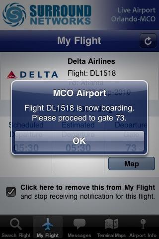 Live Airport - Orlando (MCO Airport) Lite screenshot-4