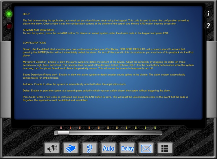 Security System (iPad Edition) screenshot-4