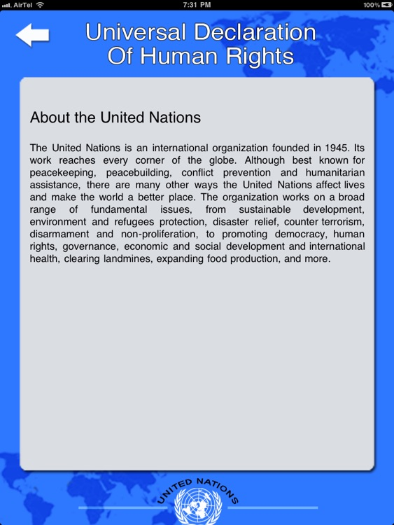 United Nations Declaration of Human Rights HD [UN] screenshot-4