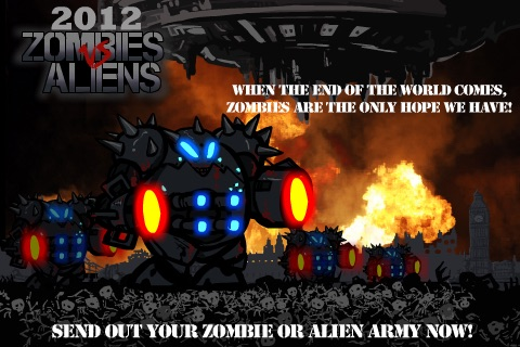 2012 Zombies vs Aliens