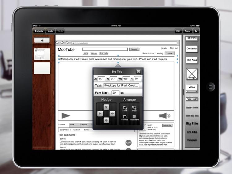 iMockups for iPad screenshot-4